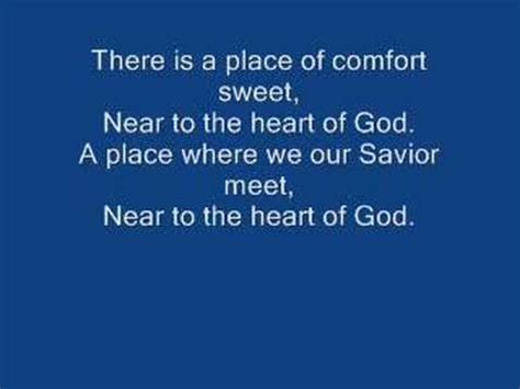 God Of All Comfort Lyrics by Christian Hymns Quot Near To The Of God Quot