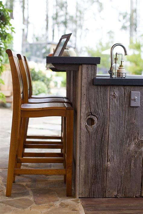 outdoor kitchen bar stools entertaining with diane and michael mina bar outdoor
