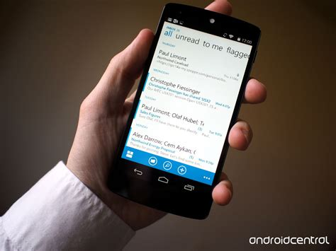 owa app for android microsoft announces official owa app for android coming later this year android central