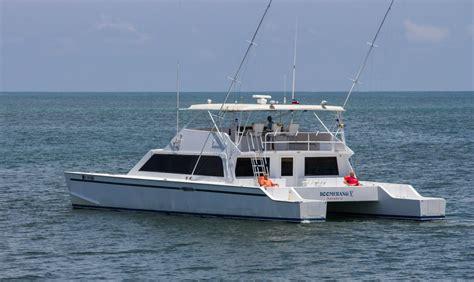 boomerang catamaran costa rica luxury yacht sportfishing diving vrbo