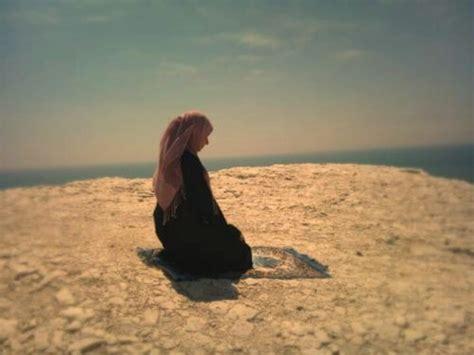 Hijap Pray Akhirah devout muslim praying so beautiful and peaceful