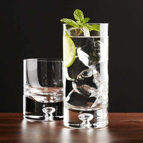Crate And Barrel Barware direction glasses crate and barrel