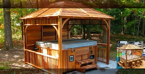 Kijiji Gazebo by Kijiji Cedar Gazebos And Spa Enclosures Lawn Amp Garden