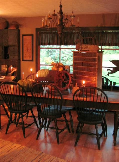 Primitive Dining Room Tables Primitive Dining Room Dining Room Ideas Pinterest