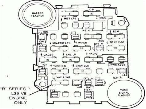 fuse box diagram 79 chevy wiring diagrams wiring