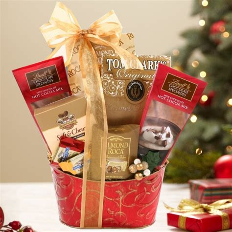 holiday hot chocolate gift basket aa gifts baskets
