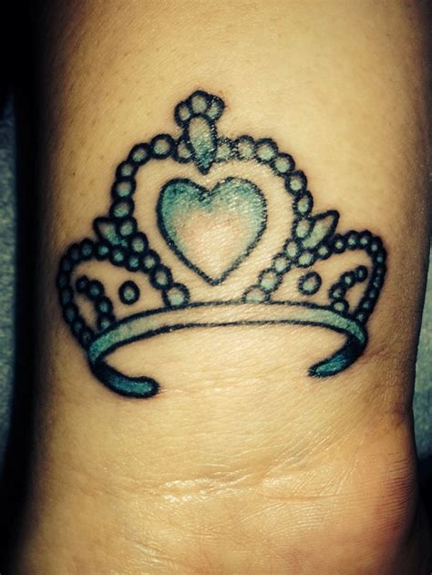 princess crown tattoo princess tiara