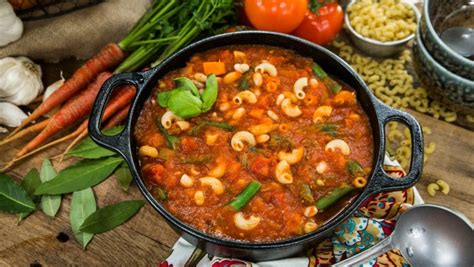 recipes classic minestrone soup hallmark channel