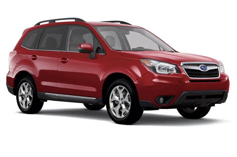 subaru forester red 2018 updated starlink system to debut in 2016 subaru forester