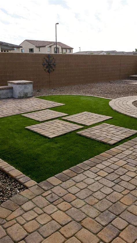 how to get a free backyard makeover the backyard makeover paver aces