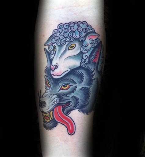 tattoo design vest 50 wolf in sheeps clothing tattoo designs for men manly