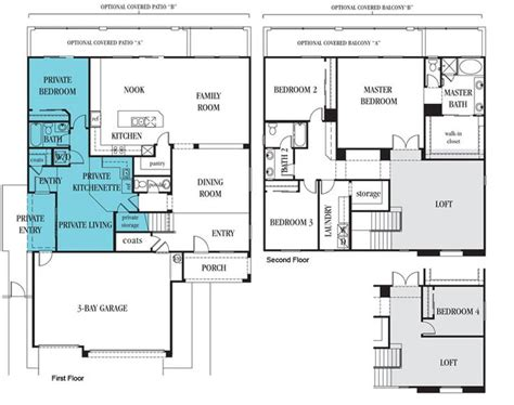 1000 images about second generation floor plans on