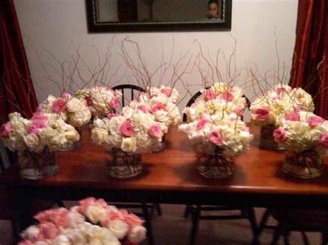 Flower Centerpieces by Diy Fall Wedding Centerpieces Siudy Net