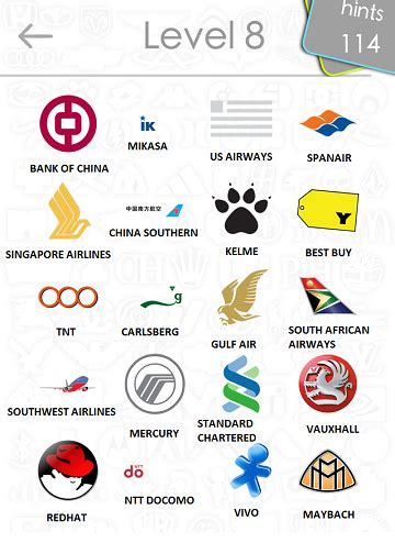 logos quiz answers: level 8 part 3