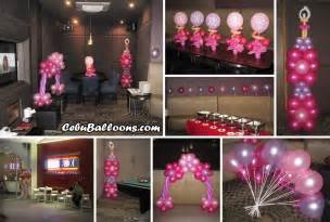 18th birthday centerpiece ideas centerpieces for debut at box cebu balloons and