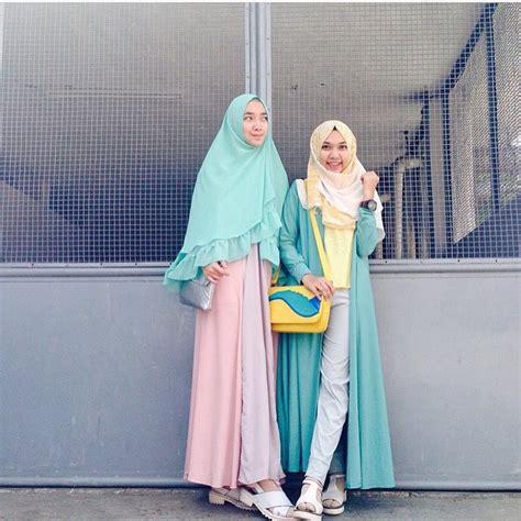 Trend Gamis Kekinian 2018 18 fesyen baju raya 2018 terkini design elegan mewah dan