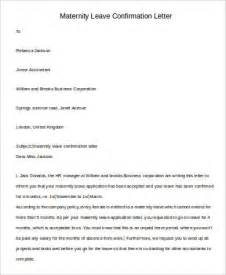 Employment Verification Letter Maternity Leave Leave Letter Format