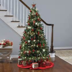 the instant fully decorated christmas tree hammacher