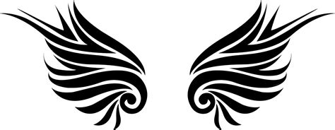 gambar tattoo png clipart best lambang sayap keren clipart best