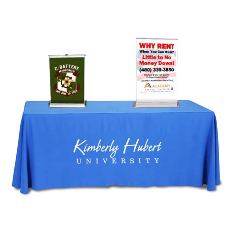 table top poster tabletop retractable banner stand with banner 30