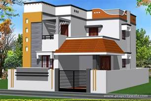 Indian House Design Front View by Jrd Smart Homes Kovaipudur Coimbatore Residential