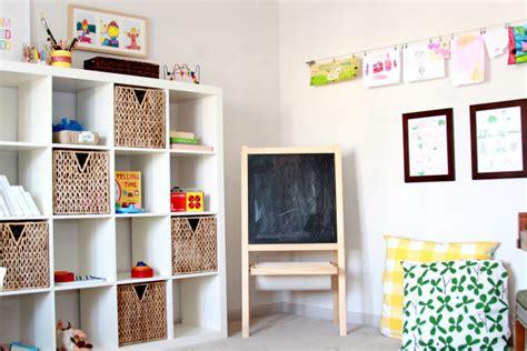 playroom shelving ideas mrfox ikea kallax shelves playroom mr fox the weekly email edit for modern families