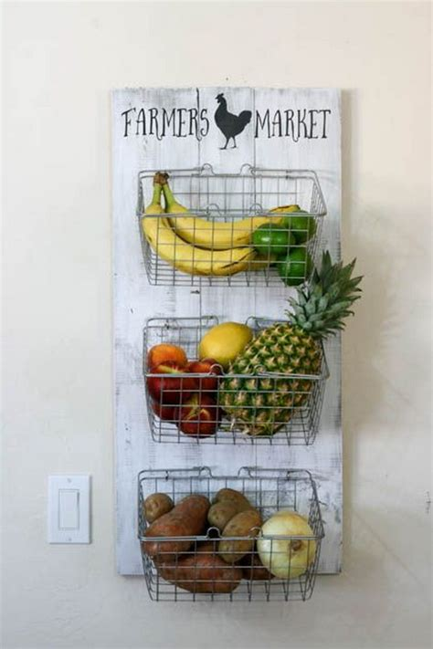 kitchen wall storage ideas 30 diy ideas tutorials to get shabby chic style