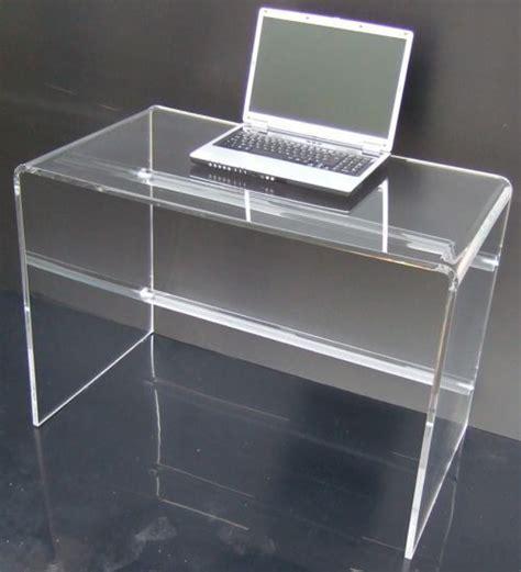 scrivania plexiglass scrivania plexiglas brillante by plex shop idee