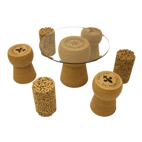 cork ottoman cork wine cork coffee table