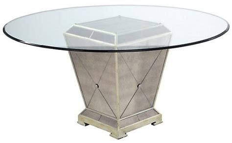 mirrored dining table base fabulous mirrored furniture for a sleek interior