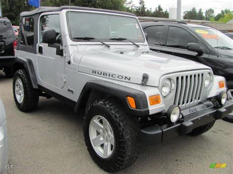 2006 Jeep Rubicon Bright Silver Metallic 2006 Jeep Wrangler Rubicon 4x4