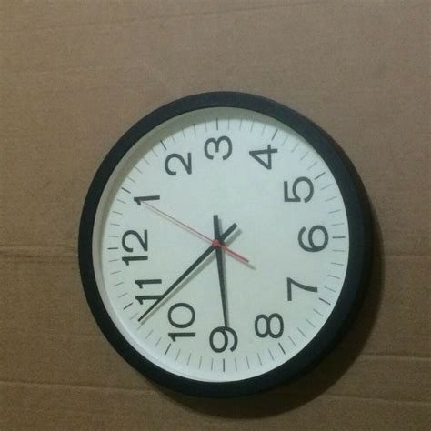 clocks home decor plain wall clock home decor clock ebay