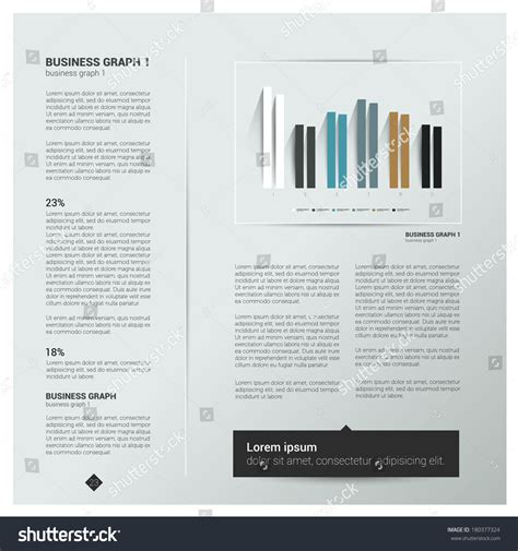 Brochure Flyer Newsletter Annual Report Layout Template Business Background Concept Stock Annual Newsletter Template