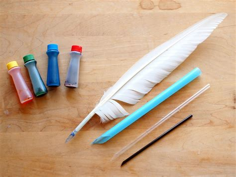 How To Make Your Own Pen And Paper Rpg - make quot quill pens quot out of straws and dye paper with coffee
