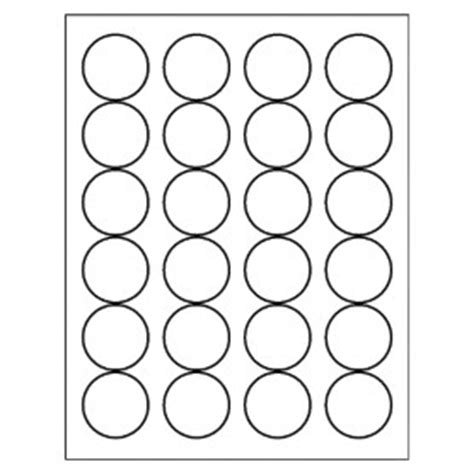 Free Avery 174 Template For Microsoft Word Round Label 5293 Avery Circle Labels 2 Inch Template