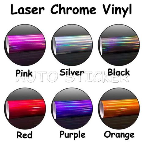 is chrome a color 2016 newest 1 49 20m glossy laser chrome color changed