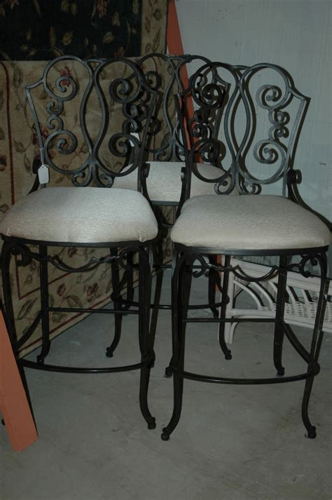 Wrought Iron Bar Table And Stools by Black Wrought Iron Bar Stools New Furniture
