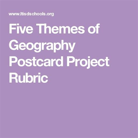 5 themes of geography rubric 1000 ideas about five themes of geography on pinterest