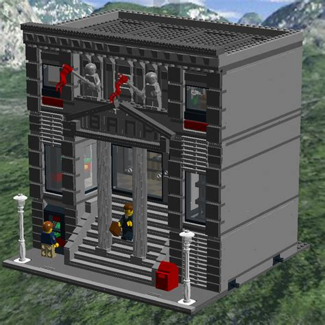 lego bank related keywords suggestions for lego modular bank