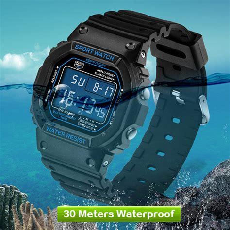 Jam Tangan Sport Digitec Original Time Water Proff 1 2017 top brand sanda wrist g style waterproof sports watches shock s