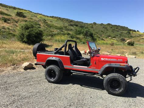 Jeep Laguna 1982 Cj8 Scrambler Jeep 4x4 Fuel Injected 6cyl For Sale In