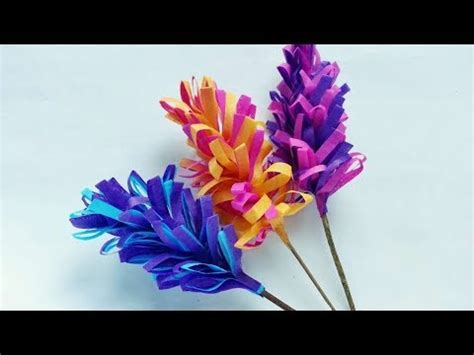 swirly paper flower tutorial how to make swirly paper hyacinths diy curly paper