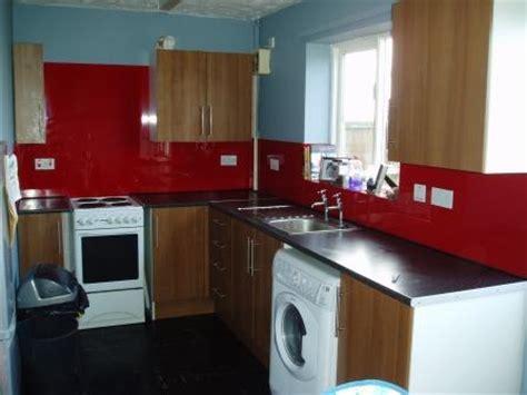 tile splashback ideas pictures red painted kitchens kitchen splash back holt norfolk glass glazing solutions