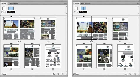 layout view indesign indesign tutorial resize a page using indesign cs6 s
