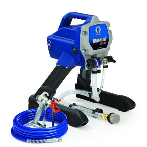 spray painter graco shop graco magnum lts15 electric stationary airless paint