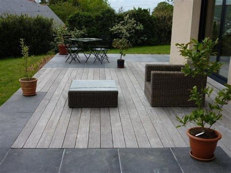 Jardins En Terrasse by Dallage En Et Terrasses Bois Paysagiste Sur Nantes