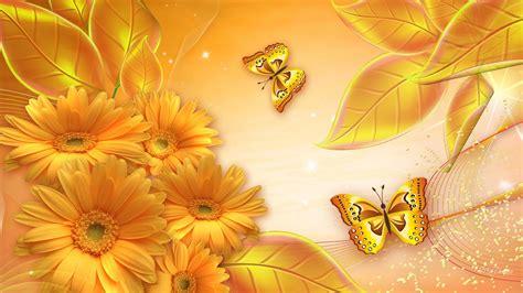 wallpaper gold butterfly butterfly wallpaper download golden butterfly high