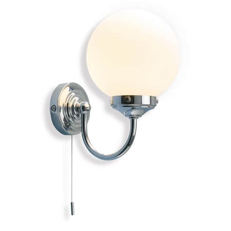 barclay traditional bathroom wall light with switch