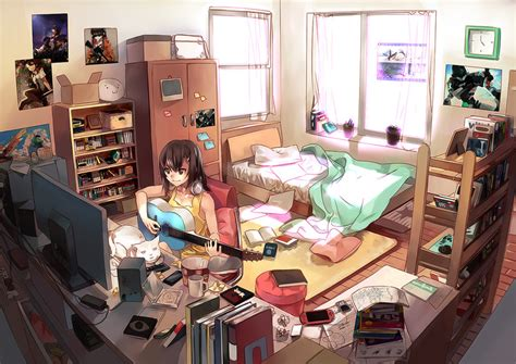 wallpaper anime room my room my rules anime girls artbooks theanimegallery com
