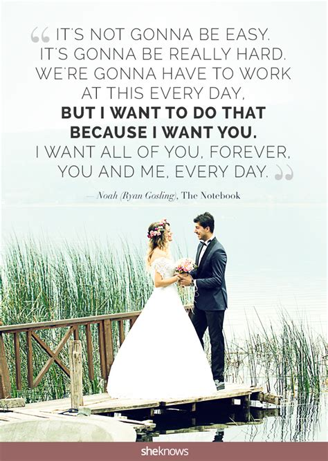 Wedding Quotes Not Cheesy by 15 Quotes For But Not Cheesy Wedding Vows